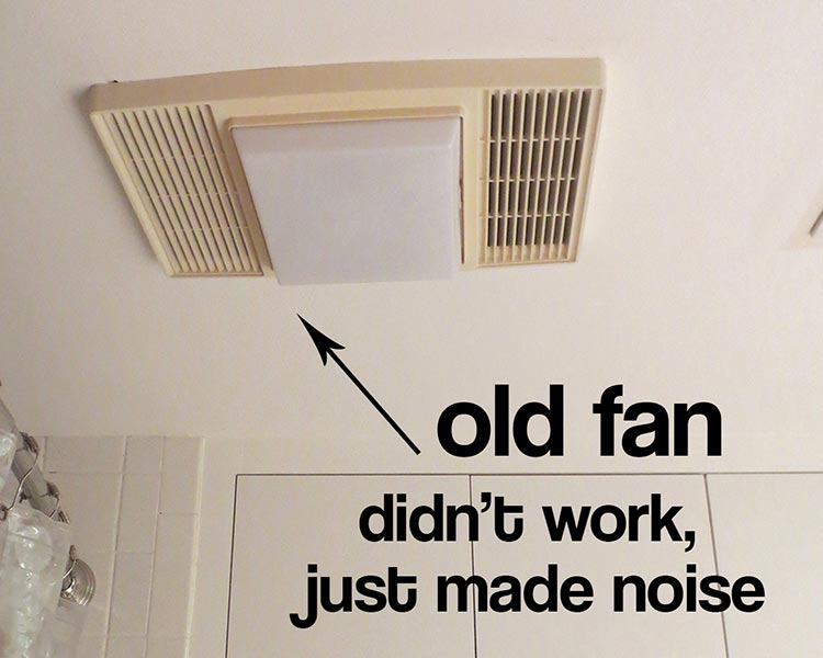 Attractive Bathroom Exhaust Fan Replacement