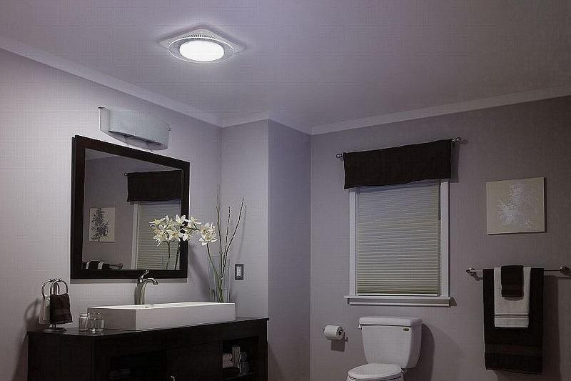 bathroom exhaust fans with light - Bathroom Exhaust Fan With Light